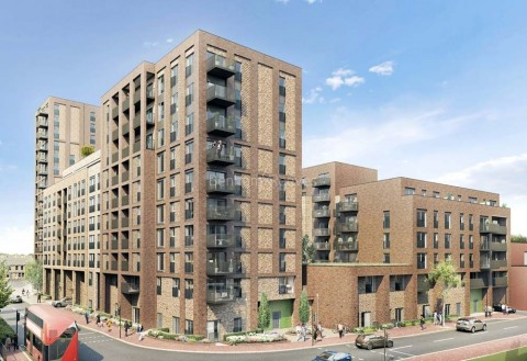 New Market Place, East Ham, E6