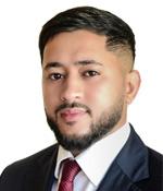 Raj Miah, Beaufort Park Branch Manager, Benham & Reeves Lettings