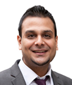 Sam Shah, Beaufort Park Branch Manager, Benham & Reeves Lettings